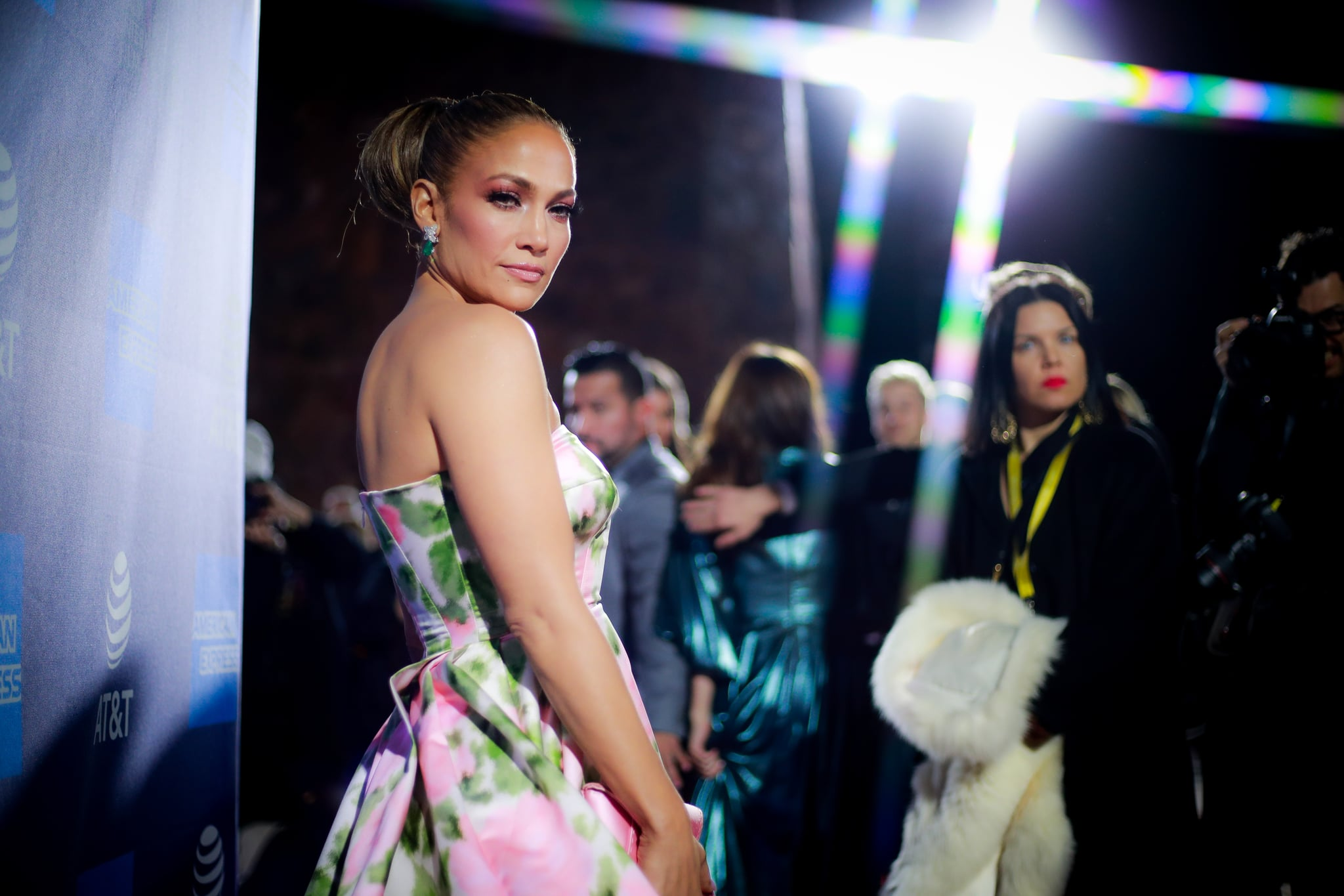PALM SPRINGS, CALIFORNIA - JANUARY 02: Jennifer Lopez attends the 31st Annual Palm Springs International Film Festival Film Awards Gala at Palm Springs Convention Center on January 02, 2020 in Palm Springs, California. (Photo by Rich Fury/Getty Images for Palm Springs International Film Festival)