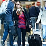 Lauren Conrad left LA on a solo trip.