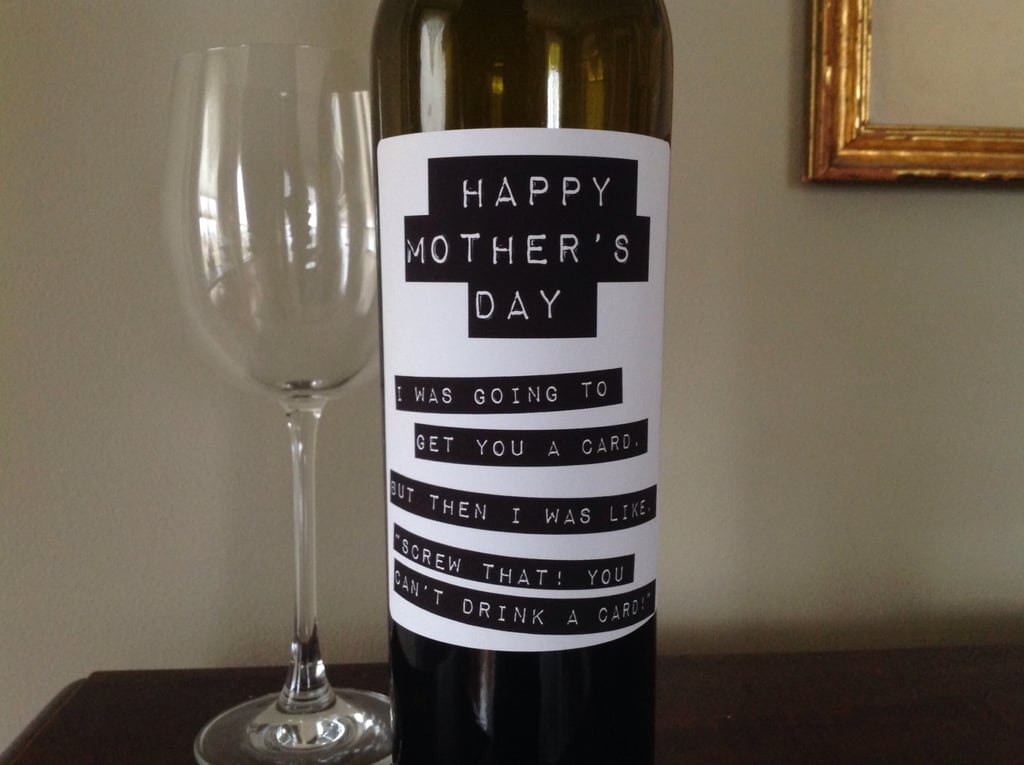 It's just a photo of Current Mother's Day Wine Labels