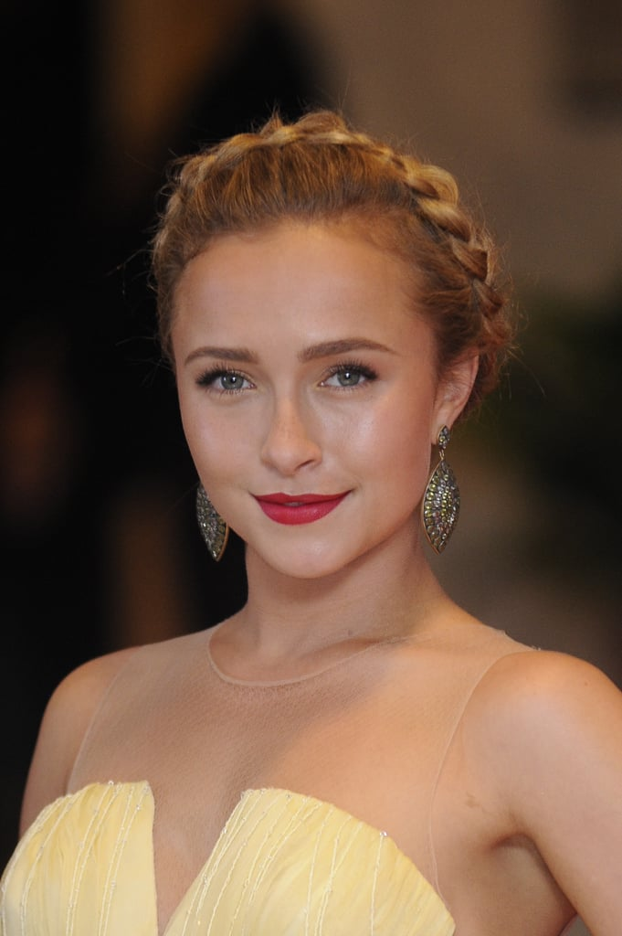 We love how Hayden Panettiere wore her halo braid a bit further back on her head at the White House Correspondents' Dinner, which completely changed the look of the style.