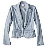 Missing your jean jacket Monday through Friday? Make it work for a casual office with Mossimo's denim blazer ($30).