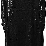 Veronique Branquinho Hooded Sequin Dress