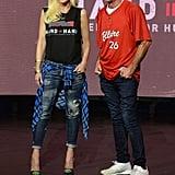 Gwen Stefani and Dennis Quaid