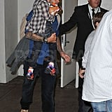 Pictures of David Beckham and Kids