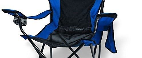 Traveling Breeze Fan Cooled Sports Camping Chair