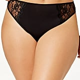 Ashley Graham Lace-Trim Thong
