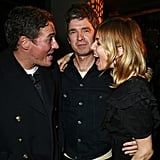 With Dave Gardner and Noel Gallagher