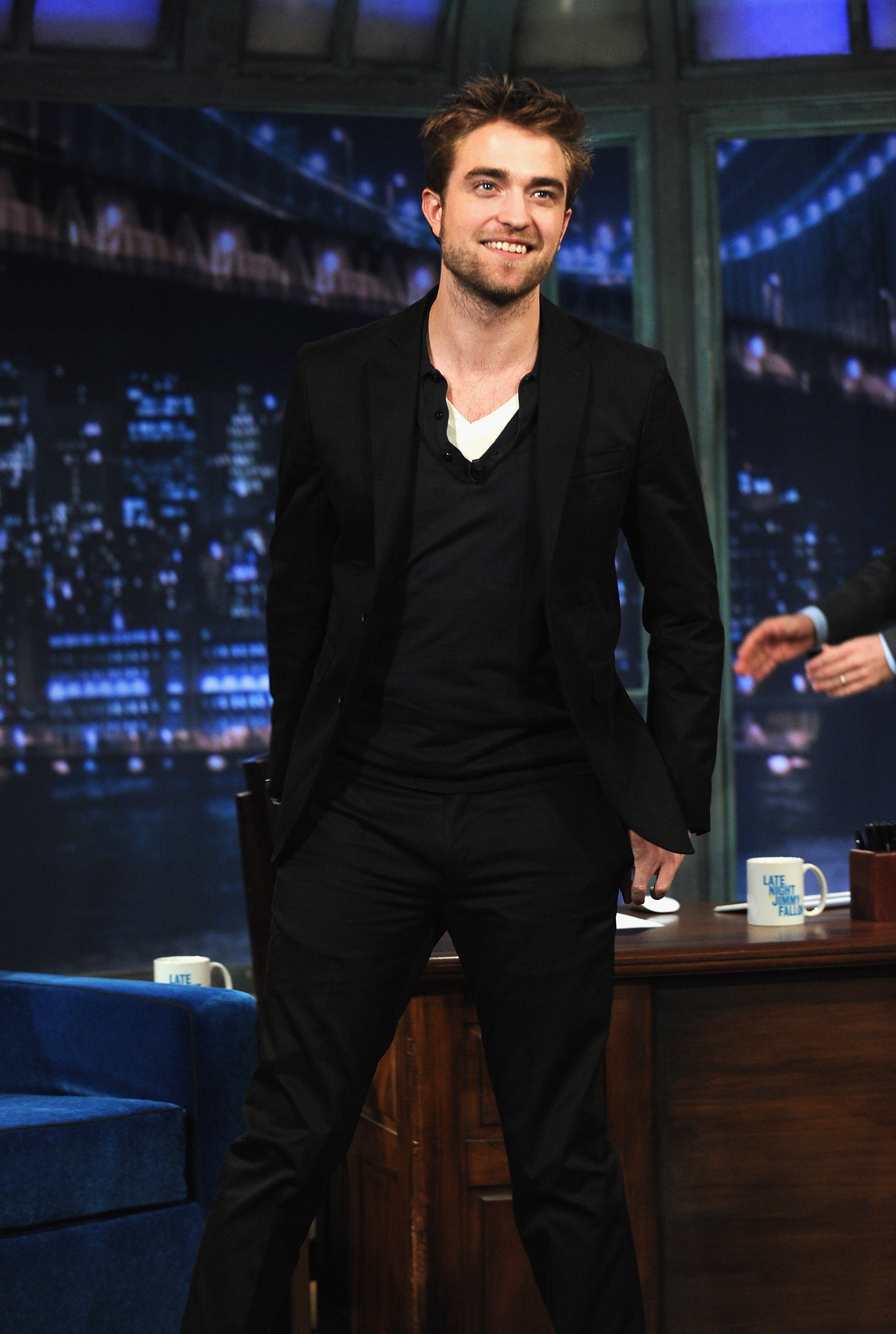 Rob is almost done with his press in NYC.