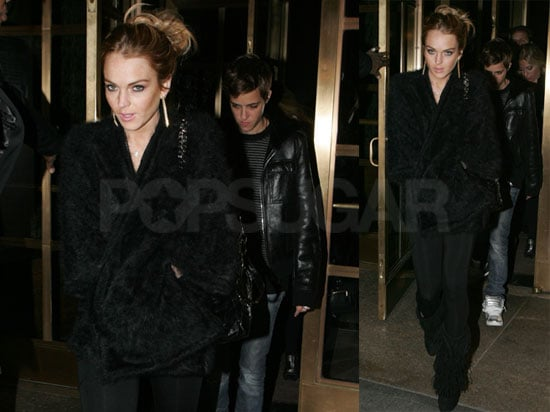 Photos of Lindsay Lohan and Samantha Ronson in NYC