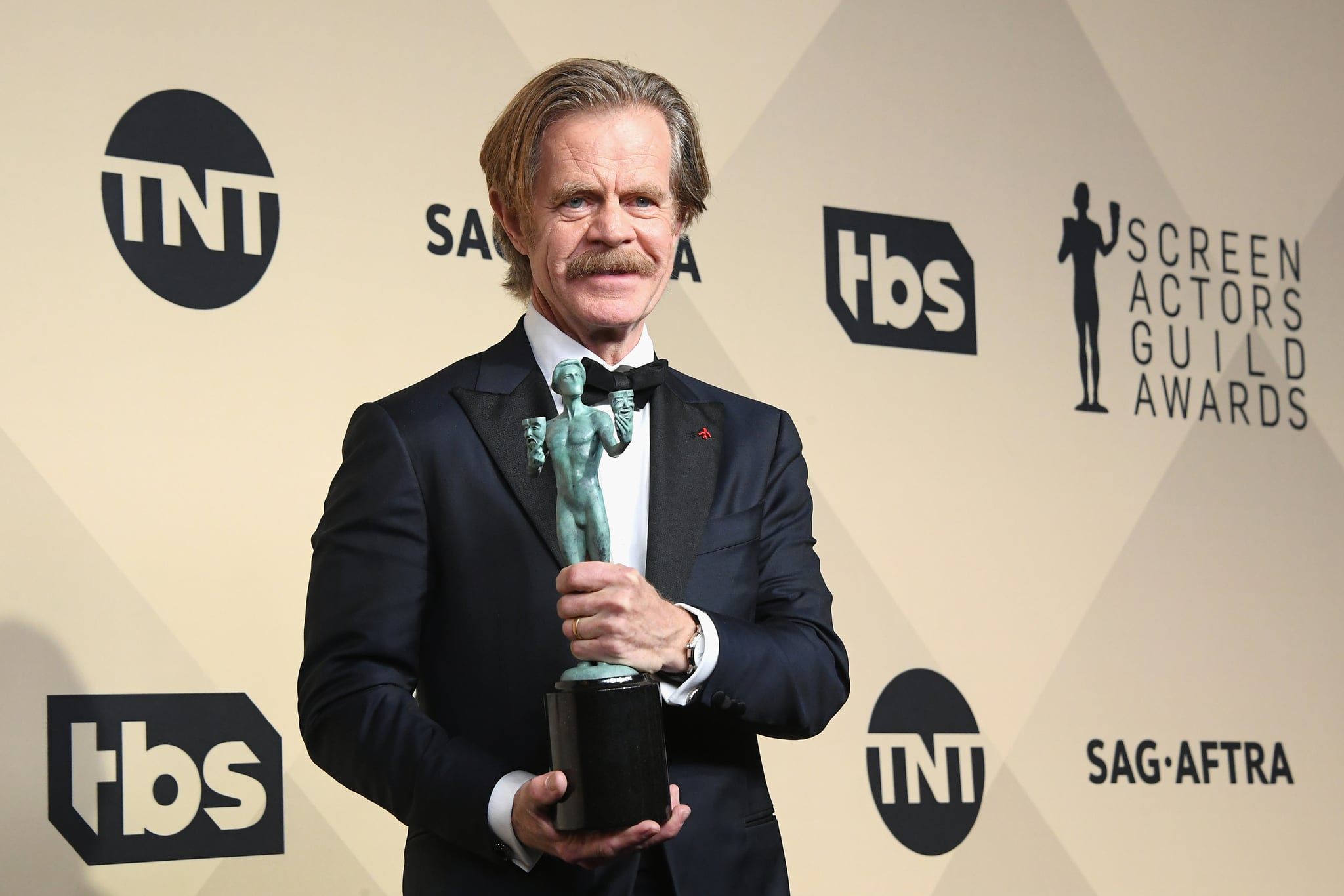 It's hard to be a man these days: William H Macy
