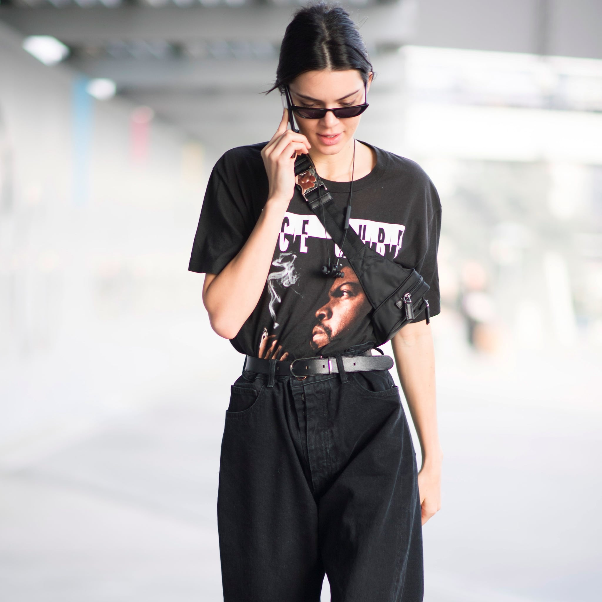 1a9f113446cc Kendall Jenner '80s-Trend Outfits | POPSUGAR Fashion