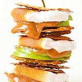 Caramel Apple Pretzel S'mores