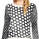 I'm not a polka-dot girl, per se, but I have been wanting to get into more prints this year, so when I spotted Gwen Stefani wearing this Michael Michael Kors polka-dot sweater ($120), I knew I had to make it mine. What I love so much about this polka-dot top is its faded nature, and, of course, the price tag isn't too bad either.  — Melody Nazarian, celebrity style editor