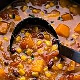 Slow Cooker Black Bean, Quinoa and Sweet Potato Stew