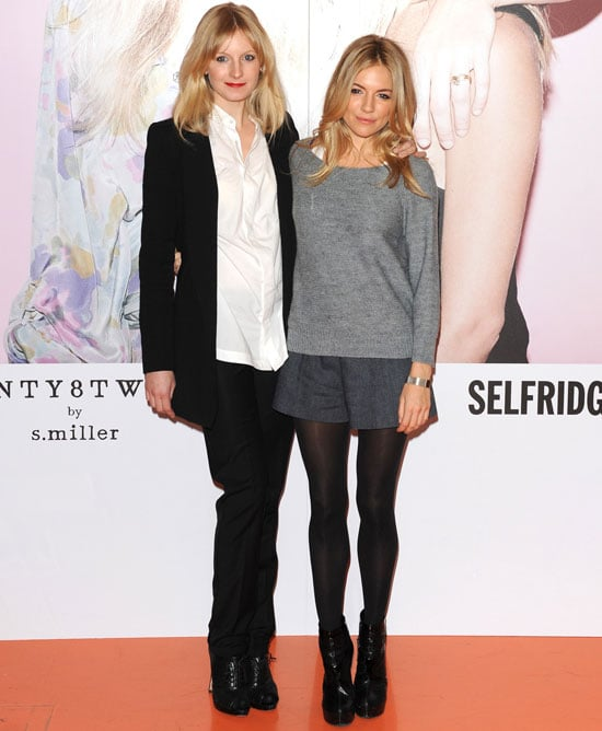 Sienna Miller and sister Savannah were polished and cool for a Twenty8Twelve event.