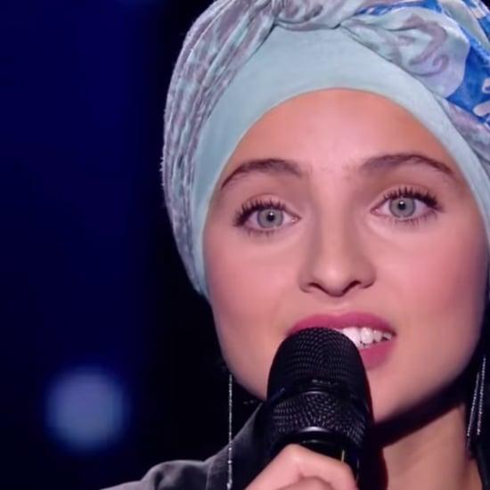 مغنية محجّبة على مسرح ذا فويس الفرنسيّ