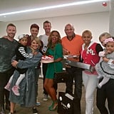 Mel B celebrated her birthday with her X Factor co-judges and family. Source: Twitter user OfficialMelB