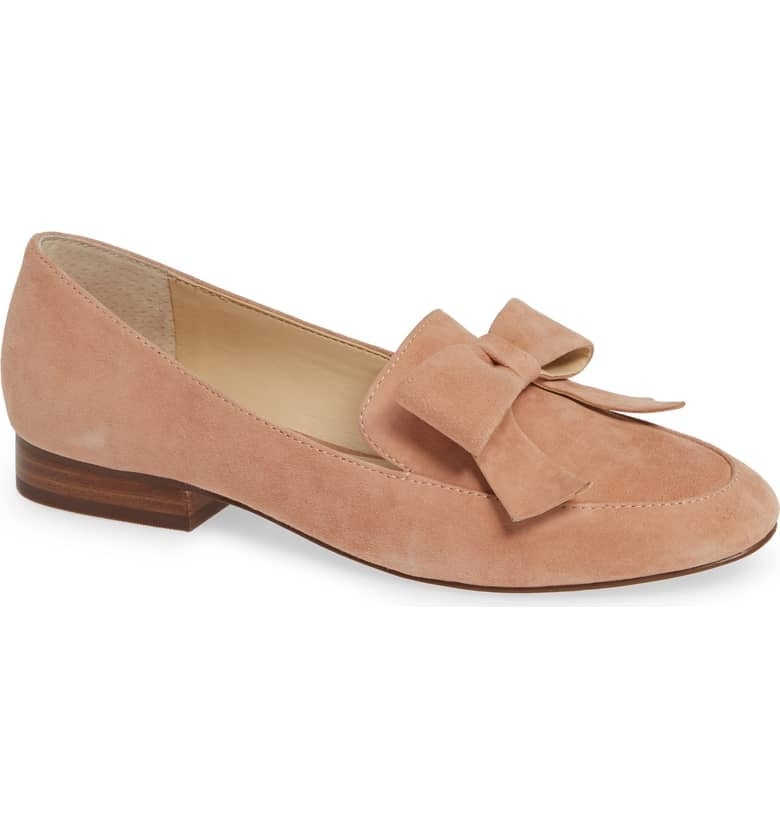 Sole Society Tannse Bow Loafers