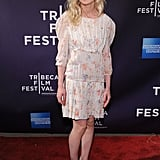 Kirsten Dunst wore a floral dress to the Between the Lines premiere in April 2010.