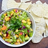 Green Tomato Peach Salsa