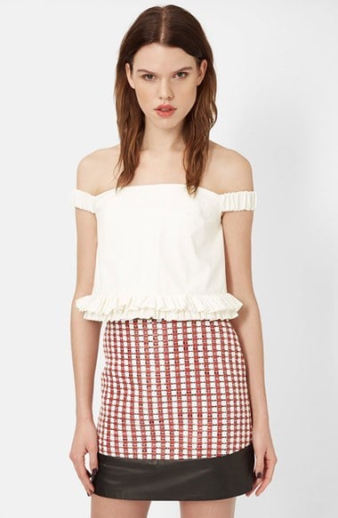 Topshop Unique Off-the-Shoulder Bustier