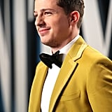 Charlie Puth's Yellow Fendi Suit at the 2020 Oscars