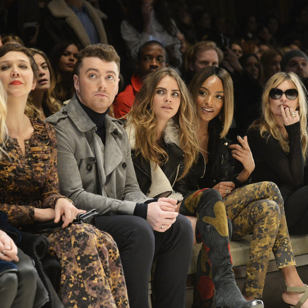 Celebrities at London Fashion Week Autumn 2015   Front Row