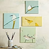 Cheer up any room with these hand-painted wall tiles ($49).