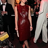 Claire Danes looked elegant in a Lanvin dress for the Time 100 gala in NYC.