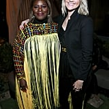 Retta and Bo Youngblood at EW's 2020 SAG Awards Preparty