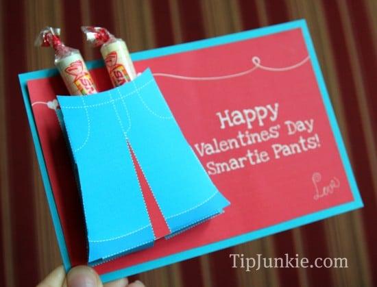 Smartie Pants Valentine's Printable