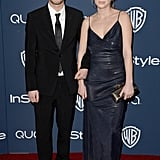 Hopper and Dylan Penn arrived together to celebrate with their mom, Robin Wright.