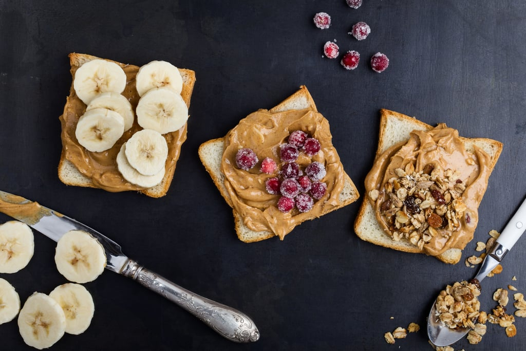 Almond Butter and Fruit on Bread