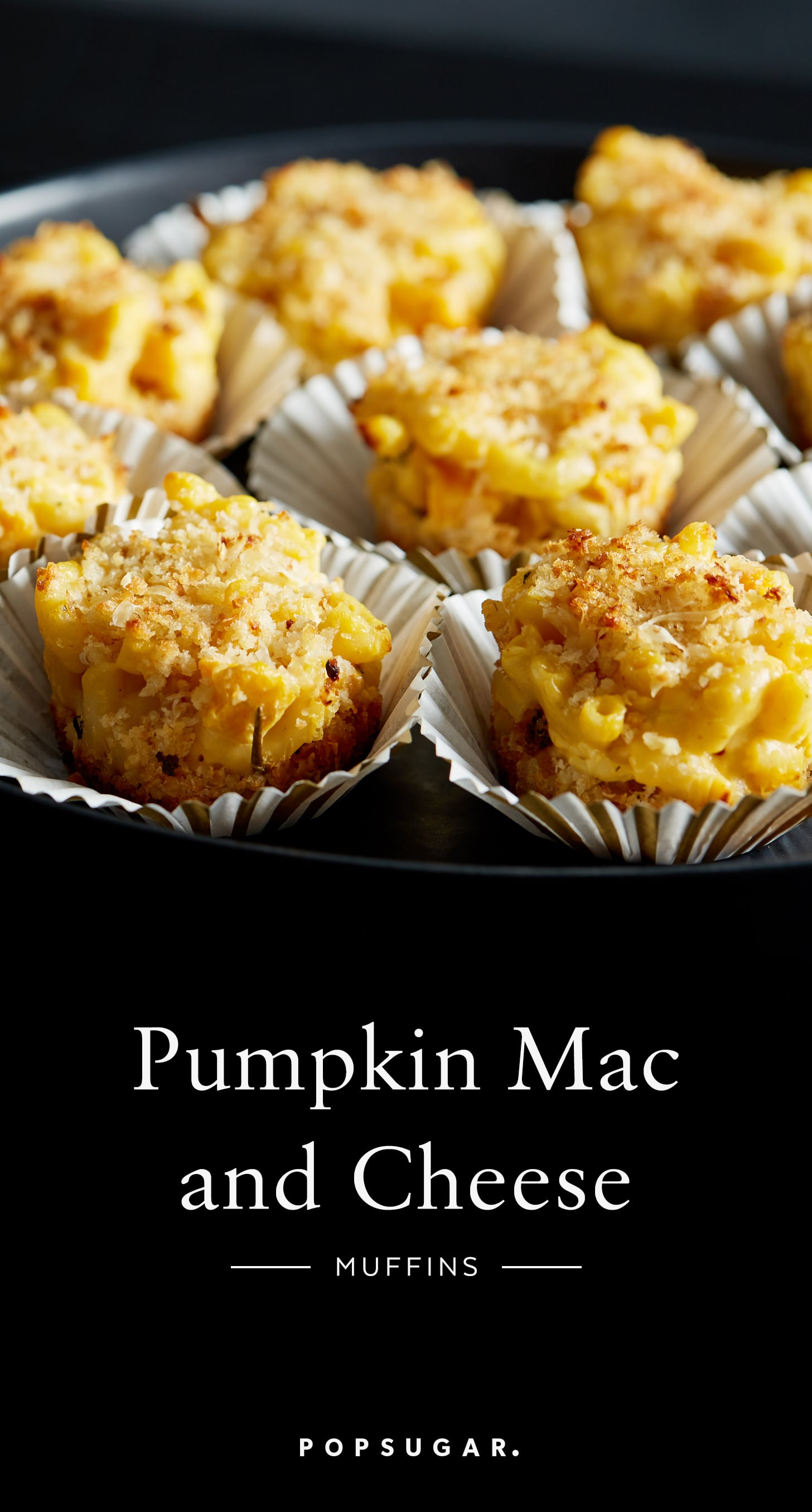 Pumpkin Macaroni and Cheese Muffins | POPSUGAR Food