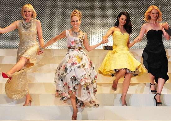 Pictures of Sex and the City 2 Japan Premiere Kim Cattrall, Sarah Jessica Parker, Kristin Davis and Cynthia Nixon in Tokyo