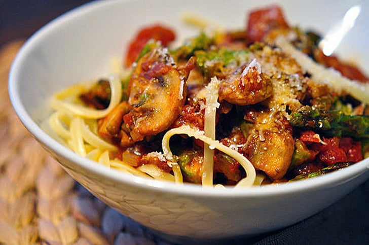 Spicy Bacon Spaghetti