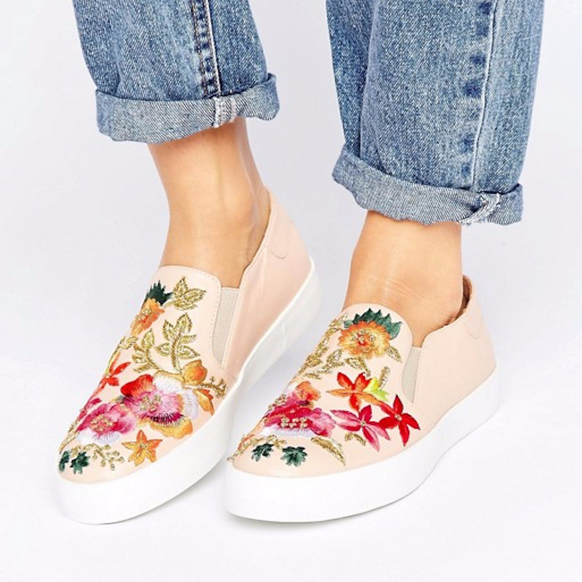 58dc2fc8317 Slip into these Steve Madden Garden Embroidered Sneakers ( 90)