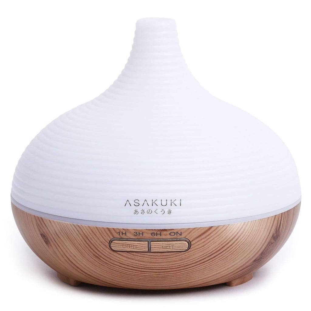 Asakuki 300ML Premium Quiet 5-in-1 Humidifier