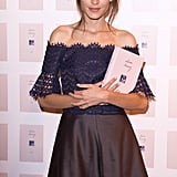Alexa Chung Wears Carven to Launch Book It