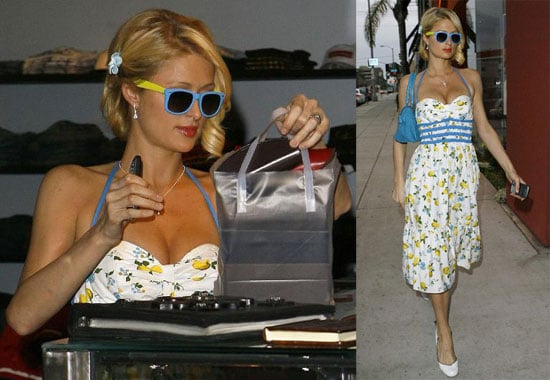 Paris Hilton Is Sunshine and Daisies
