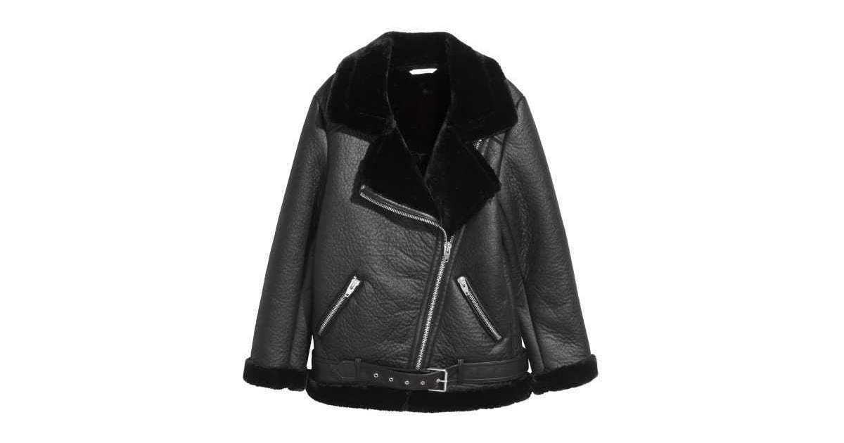 H&M Oversized Biker Jacket | Winter Clothing H&M