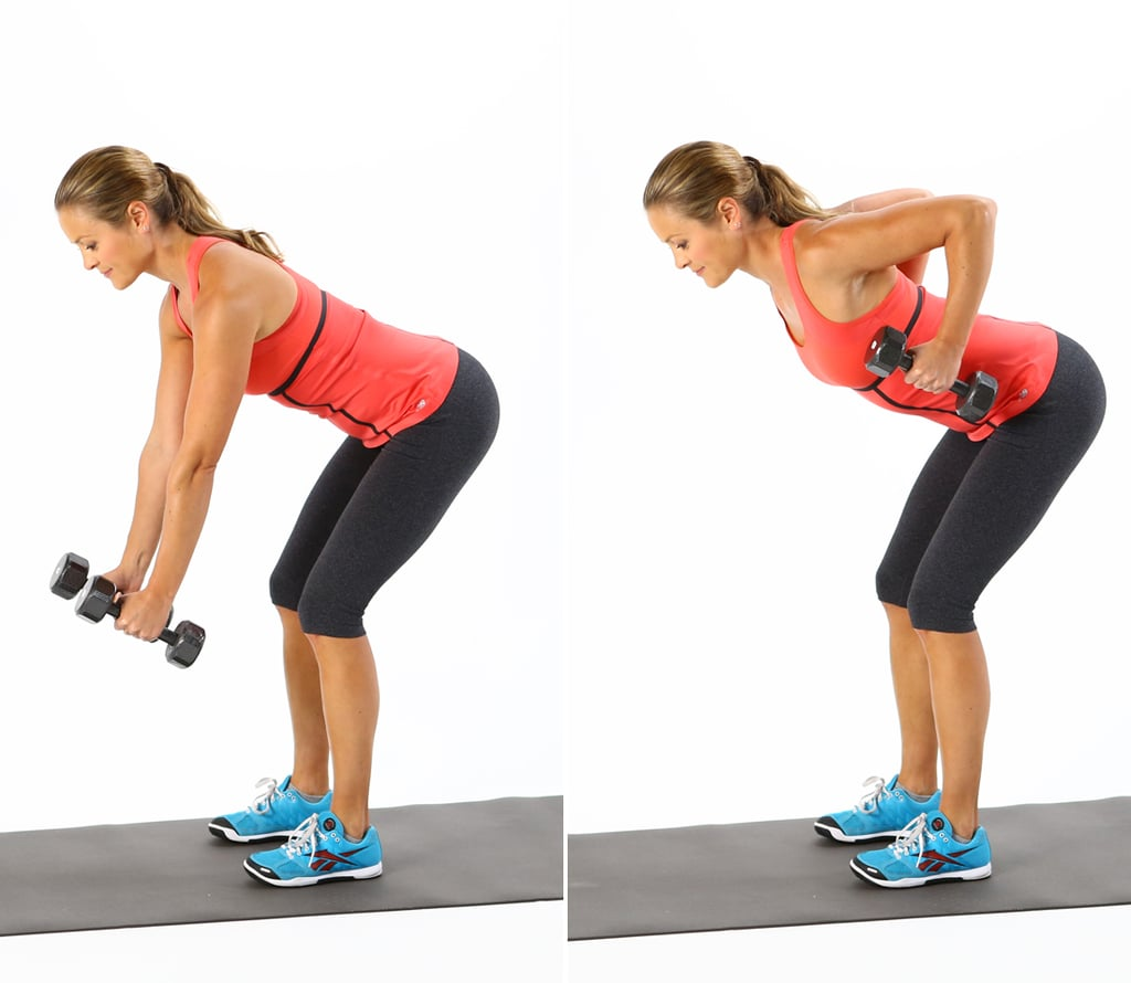 Image result for Two-Armed Bent Over Row with Bottles""