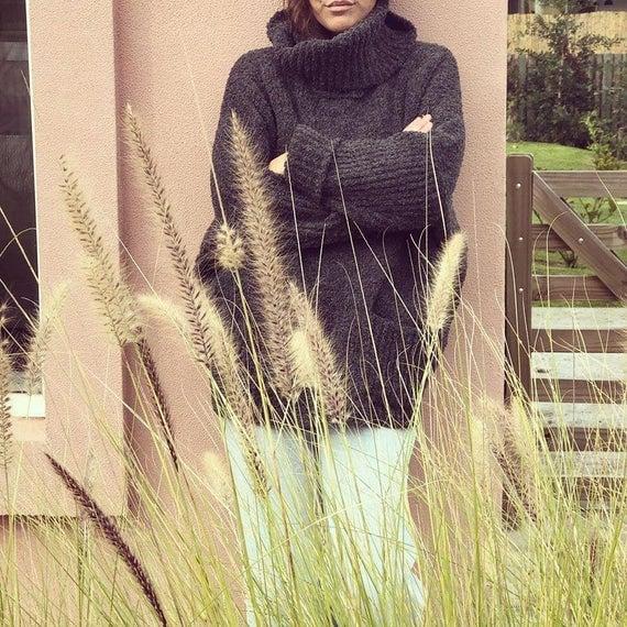 Antonia Wool Wear High Neck Sweater