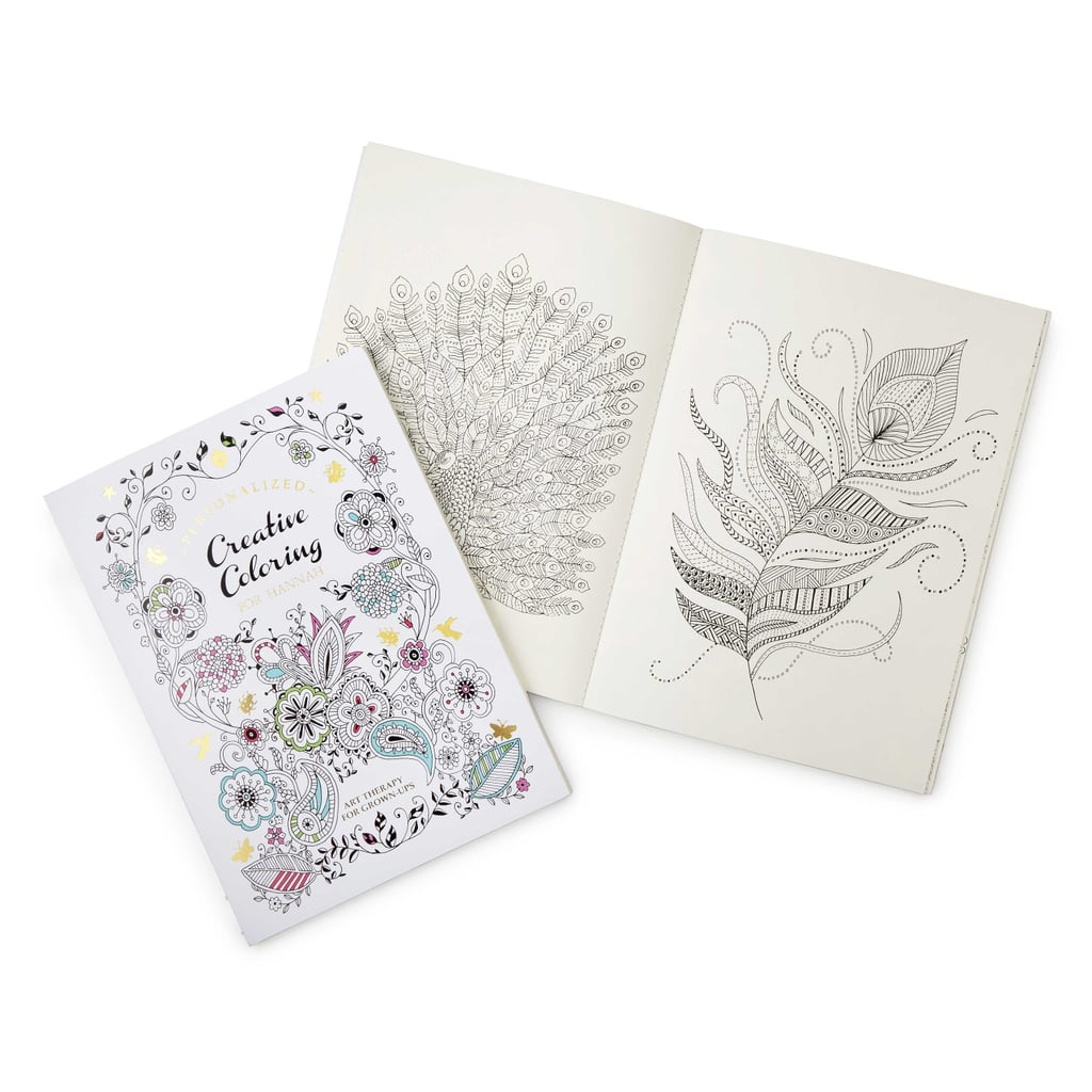 Personalized Adult Coloring Book