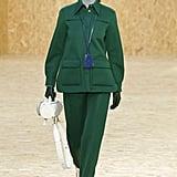 Bella Hadid on the Lacoste Fall 2020 Runway at Paris Fashion Week