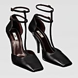 Zara Campaign Collection Leather Heels