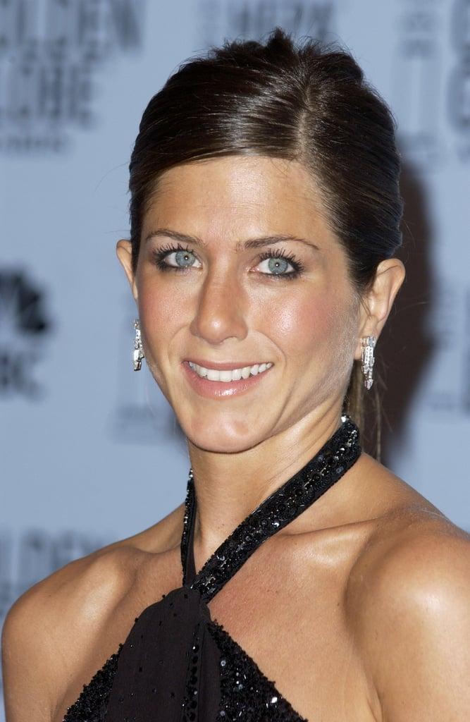 Jennifer Aniston 2003 Best Golden Globes Hair And
