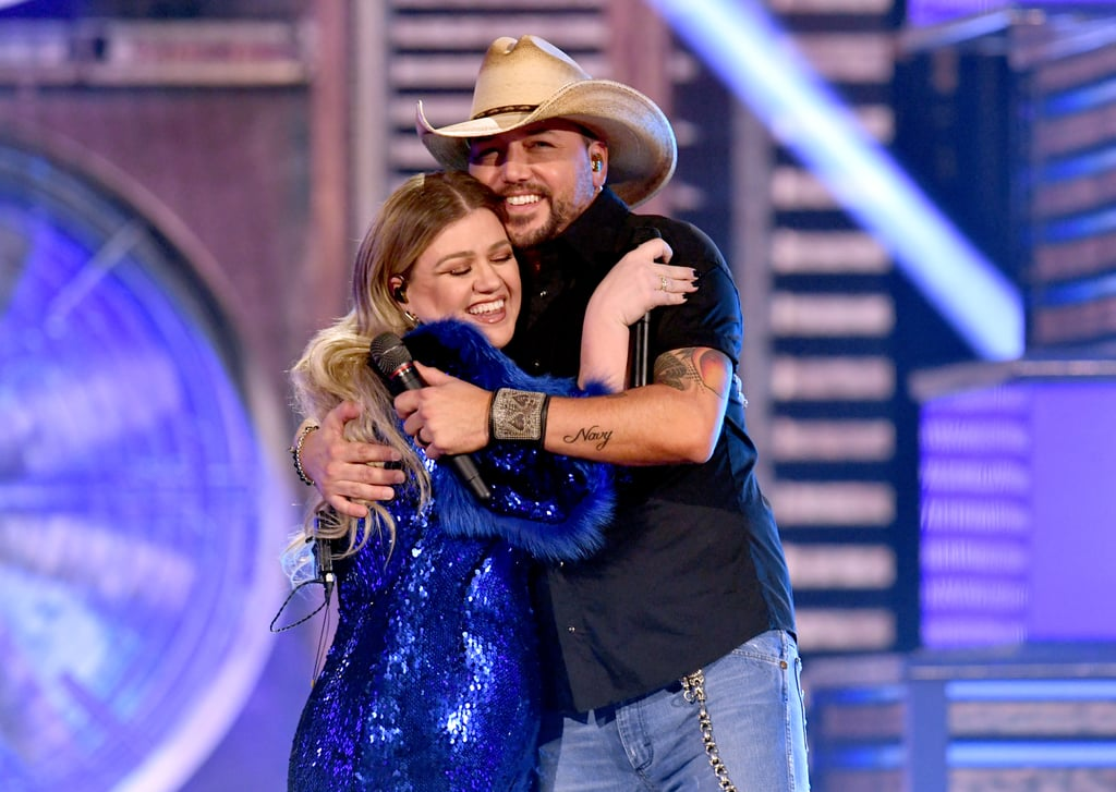 Pictured: Kelly Clarkson and Jason Aldean