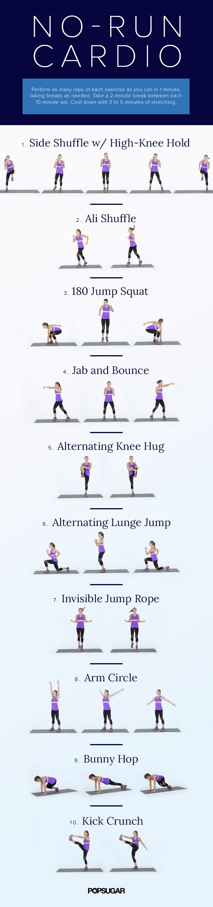 Cardio Workouts You Can Do at Home