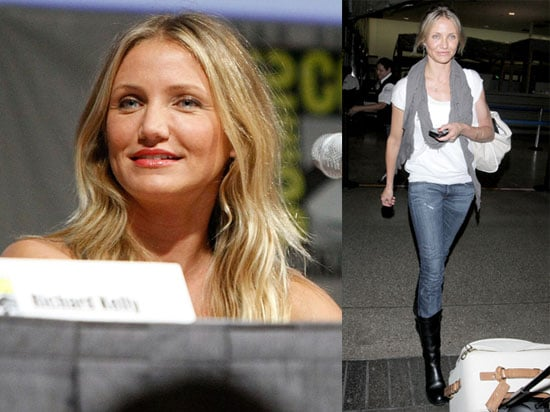 Photos of Cameron Diaz Arriving at LAX